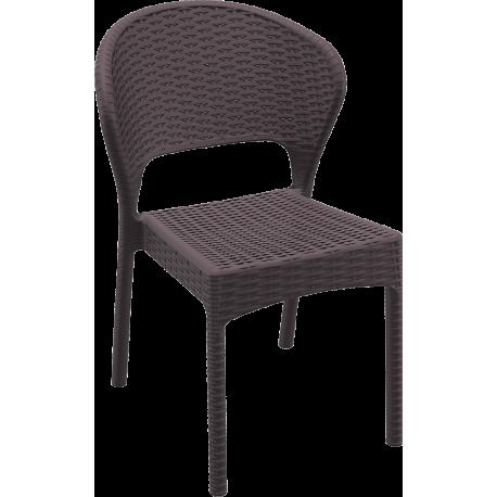 صندلی پلاستیکی طرح حصیری