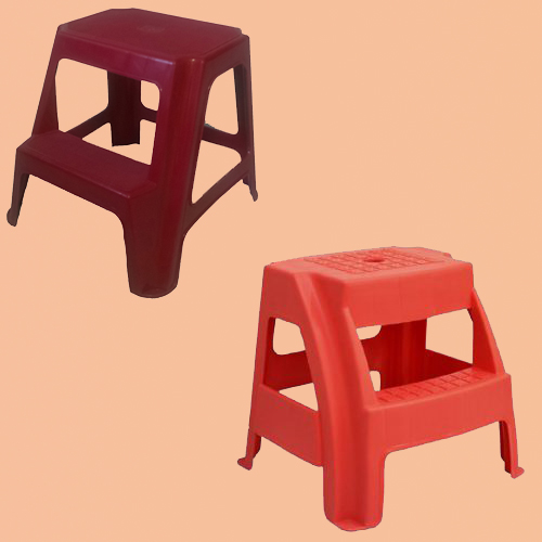 تولیدی چهارپایه پلاستیکی پله دار