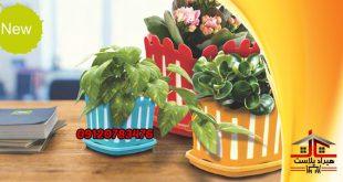 قیمت گلدان پلاستیکی تزئینی